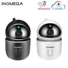 INQMEGA cámara IP en la nube con forma de U, 1080P, seguimiento automático, seguridad inteligente para el hogar, inalámbrica, WiFi, cámara CCTV con puerto de red para bebés