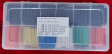 650PCS MIXED COLOR HEAT SHRINK VALUE PACK COLOR SIZE QTY CAN BE ORDERED