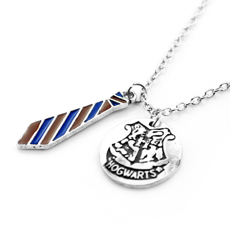 Fashion jewelry hogwarts school badge tie necklace pendant the big fashion jewelry hogwarts school badge tie necklace pendant the big four college symbol pendants for fathers day gifts in pendant necklaces from jewelry mozeypictures Image collections