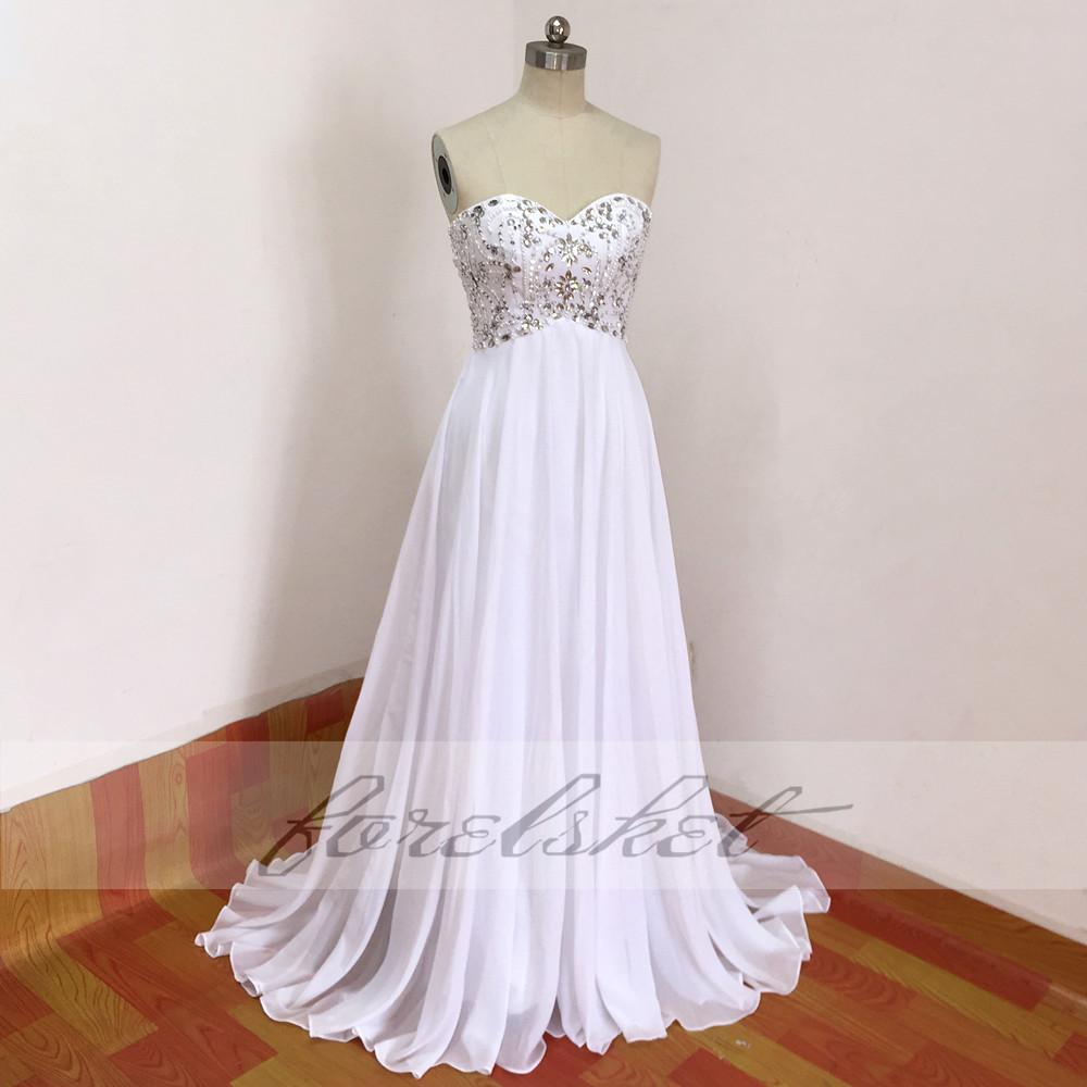Sexy Chiffon A Line Beach Wedding Dresses Vintage Boho Cheap Bridal Gowns Vestidos De Novia Robe De Mariage Bridal Gown in stock 21