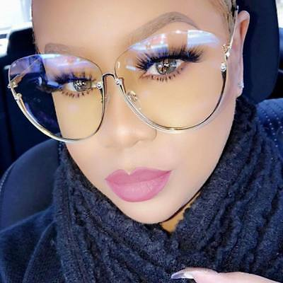 oversized gold clear glasses frames round transparent glasses optical spectacle 2017 luxury brand sun glasses for women eyeglass