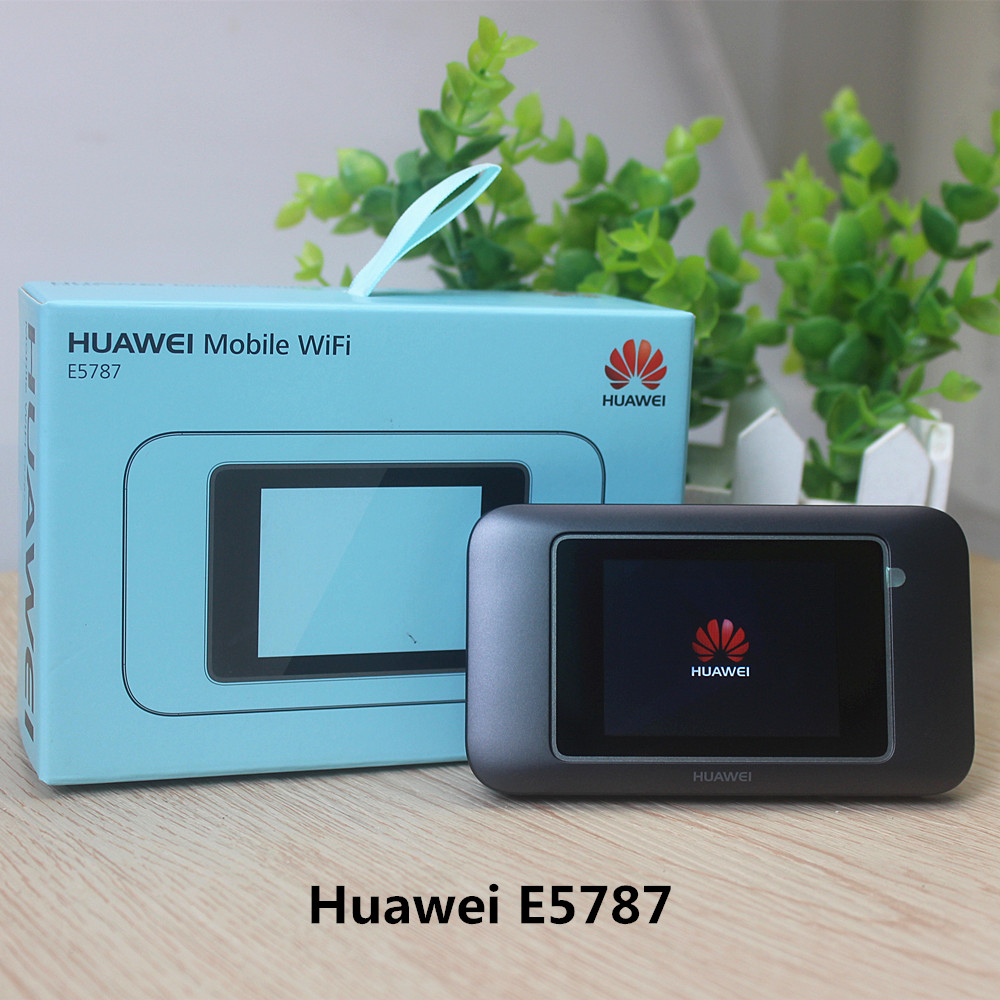 Original Unlock 4G LTE Wireess wifi Router with touch screen Portable SIM Card router Huawei E5787s
