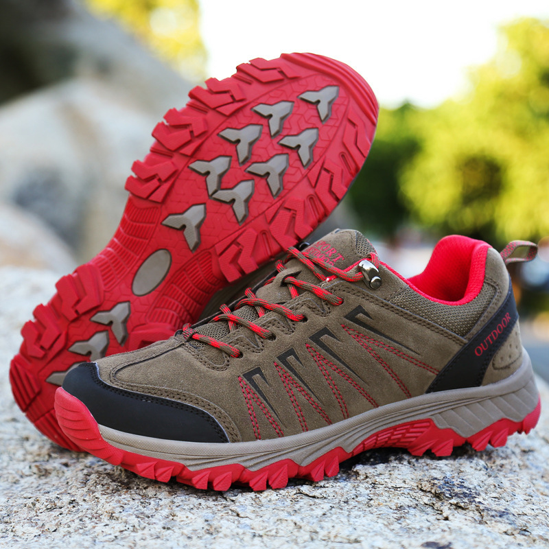 Ladies Hiking Boots 2018 Waterproof Mountain Climbing Shoes Outdoor Women Hiking Shoes Trekking Couples With Sport Sneakers цена