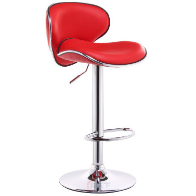 coffee house stool home bedroom chair exhibition hall fashion chair retail wholesale free shipping orange red color