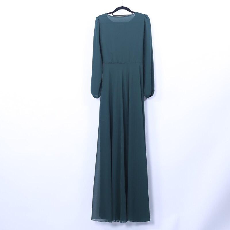 Vestuário Islâmico Jilbab Turco Abayas Para As