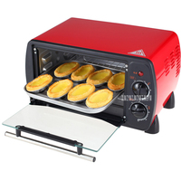 B509B mini oven small 12L electric bakery equipment forno eletrico cookies pizza roast chicken machine toaster 1200W Ovens