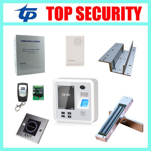 TCP/IP fingerprint access control system finger door control time attendance system with free software and SDK access control