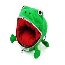 Cute New Frog Style Unisex Mini Wallet Men Women Cartoon Cute Corduroy