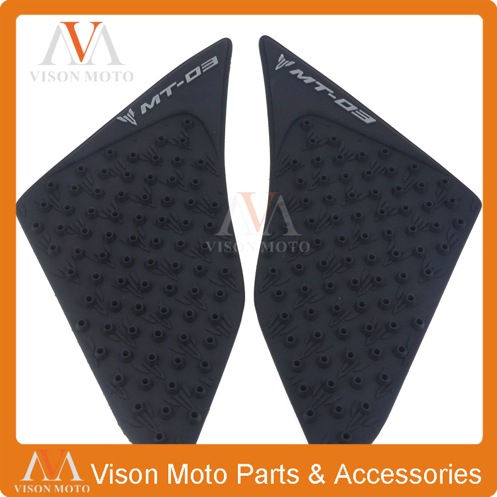 Home Motorcycle Tank Traction Pad Side Gas Knee Grip Protector Decal For Yamaha Mt03 Mt-03 Mt 03 2015 2016 15 16