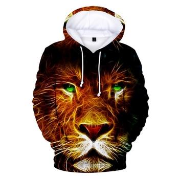 New 3D Print The Lion King Hoodies Men Women Animation Hoodie Streetwear Sweatshirts The Lion King 3D Hoodies Men Casual Tops men lion print high low blouse
