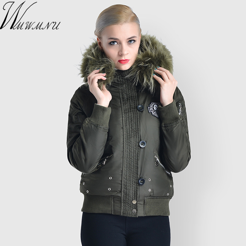 2018 New Large Size high quality winter thick jacket women Fashion Jackets Parka Spring Casual Spring Warm short Coat