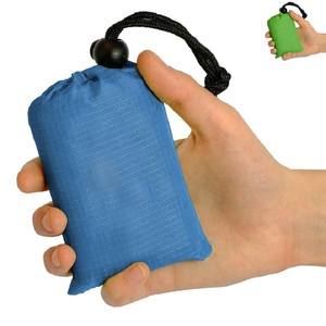Image 4 - Ultralight חיצוני קמפינג מחצלת עמיד למים מיני כיס שמיכת נייד חיצוני פיקניק Mat חוף גן כרית חול משלוח מחצלת