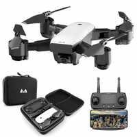 Nouveau Drone FPV RC avec vidéo en direct et retour à la maison pliable RC avec caméra HD 720 P/1080 P Quadrocopter retour à la maison jouet pliable