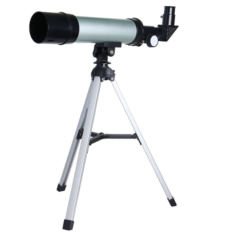 60/50mm Refractive Monocular Astronomical Telescope Tripod HD Space Monocular Spotting Scope professional Telescopes 610 bosma 80 900 astronomical telescope monocular equatorial refractive fully coated telescope with portable tripod w2358b