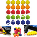 25 Pcs/Set Rounds Bullet Balls for Nerf Rival Refill Compatible Darts Balls 2.3cm for Kids 6 Colors