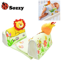 1pcs Sozzy Baby Finalize Design Pillow Anti Roll Pillow Adjust Position Shaping Side Sleeping Pillow Frog