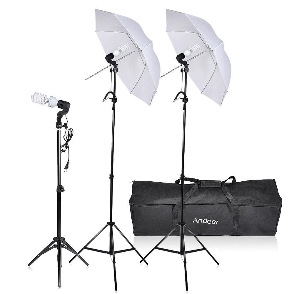 Studio Lighting Kit Amazon: Andoer Photo Studio Lighting Kit Photography Umbrella