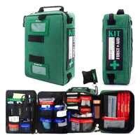 255 pçs acessível kit de primeiros socorros saco leve emergência médica sacos de resgate para casa ao ar livre viagem carro escola caminhadas sobrevivência