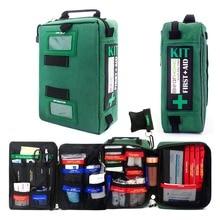 A portata di mano Kit di Primo Soccorso Sacchetto Di Emergenza Leggero Medical Rescue Borse Per La Casa Allaperto Auto Da Viaggio Scuola di Escursionismo Sopravvivenza