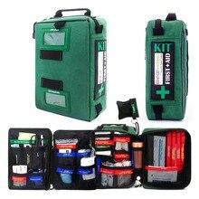 Práctico estuche para botiquín de primeros auxilios, bolsas ligeras de rescate médico de emergencia para el hogar, exteriores, coche, viajes, escuela, senderismo y supervivencia