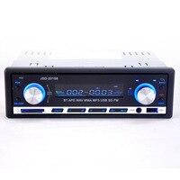 12 V De Voiture Stéréo FM Radio MP3 Audio Player Support Bluetooth Téléphone avec USB/SD MMC Port De Voiture Électronique au Tableau de Bord 1 DIN