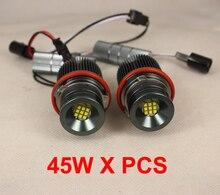 Пользовательские Plug & Play LED Маркер Angel Eyes Фары Дневного Света DRL Нет Ошибка-Один Набор (45 Вт Х 2 ШТ.)