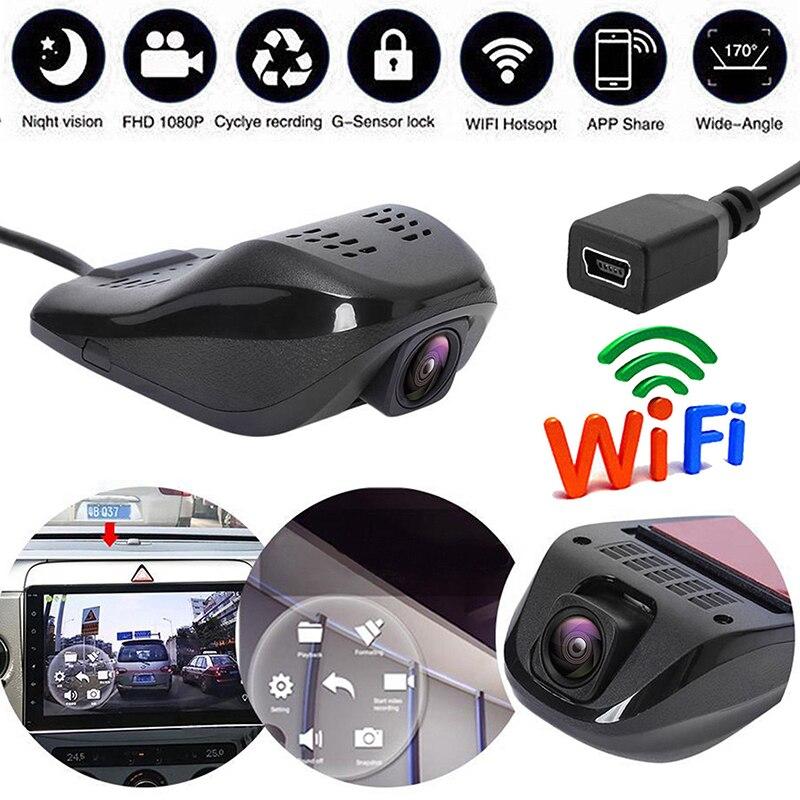 HD Hidden WiFi Car DVR Vehicle Camera Video Recorder USB Dash Cam Night Vision
