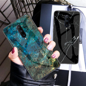 Luxury Glass Case for Oneplus 7 7T 8 Pro 6 6T 5T 5 Marble Phone Cases Back Cover for One plus 6 6T 5 5T 7 8 7T Pro Coque Fundas(China)