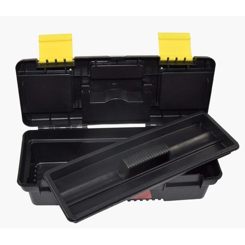 11 Inch 280x117x82mm Vehicular Multifunction Plastic Tool Box Double Layer Storage Box Hardware ToolBox Electrician Case
