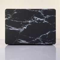 Black Marble Vinyl Skin Cover Front Protector Sticker For Macbook Bottom Cover For Macbook Air Pro