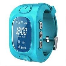 เด็กGPSติดตามwifi + GPSสมาร์ทนาฬิกาข้อมือสำหรับเด็กเด็กกันน้ำดูสมาร์ทที่มีSOS GSMโทรศัพท์AndroidและIOSต่อต้านหายไป