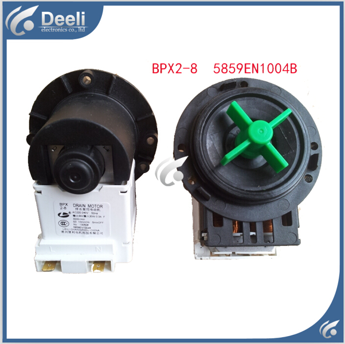 1pcs new washing machine parts drain pump bpx2 8 washing for Parts washer pump motor