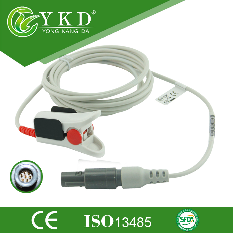 Compatible Criticare (CSI) 7Pin. CSI SPO2 sensor for adult finger typeCompatible Criticare (CSI) 7Pin. CSI SPO2 sensor for adult finger type