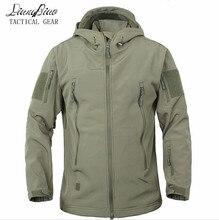 Kamuflaż wojskowy płaszcz kurtka wojskowa wodoodporny wiatrówka płaszcz przeciwdeszczowy polowanie odzież armia mężczyźni odzież wierzchnia kurtki taktyczne i płaszcze
