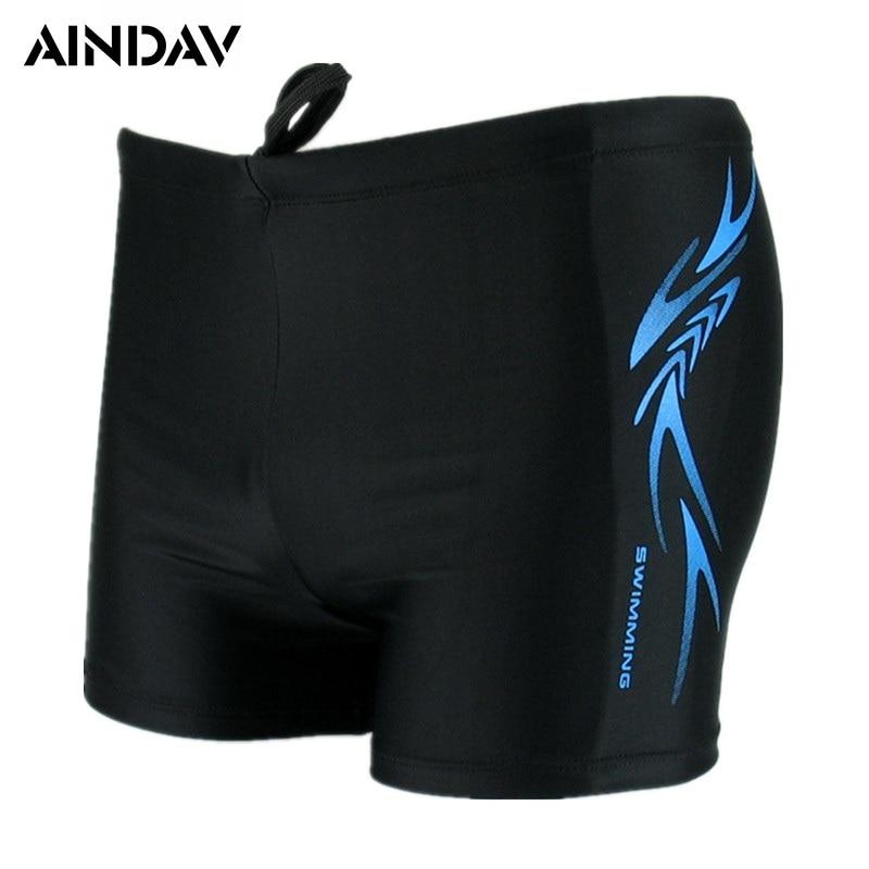 Calções de banho dos homens da marca de corrida maiô homem troncos de natação calções de banho respirável boxer board shorts XL-XXXXL