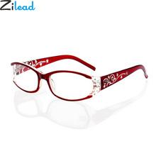 Zilead pani luksus Rhinestone Anti-promieniowania okulary do czytania kobiety Anti-zmęczenie okulary do czytania dla kobiet + 1 0 #8230 + 4 0 moda tanie tanio Unisex Jasne NONE CN (pochodzenie) Antyrefleksyjną YJ0801 3 2cm Z poliwęglanu 5 5cm Z tworzywa sztucznego 200002198 200002146