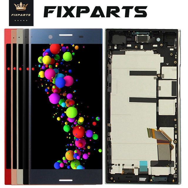 US $36 99 |For Sony Xperia XZ Premium LCD Display Touch Screen Digitizer  With Frame Replacement G8142 G8142 For 5 5