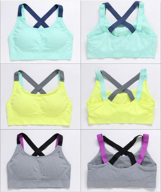 Fashion Sports Bras - 4 Colors 2