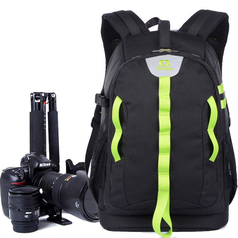 High Quality Women Men Digital DSLR SLR Camera Backpack Large Space Waterproof Photography Bag Case Anti Shock for Canon Nikon waterproof digital dslr camera backpack 14 laptop multi functional camera soft bag video case for canon nikon camera li 1964