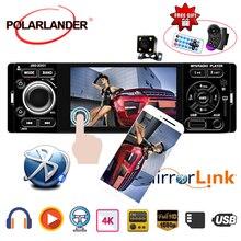 Автомобильный радиоприемник Mirror Link 1din jsd-3001 Авторадио 4-дюймовый сенсорный экран Audio Mirror Link Стерео Bluetooth Камера заднего вида usb aux Player