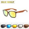 Bois 2017 Marca Designer De Moldura De Madeira Óculos De Sol Das Mulheres Pé De Madeira Homens óculos de proteção uv400 Óculos de Sol Para as Mulheres gafas de sol lente de raios