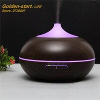 Difusor Aroma Nebulizer Wood Grain Ultrasonic Air Humidifier Aroma Diffuser Aromatherapy Office Purifier Mist Maker