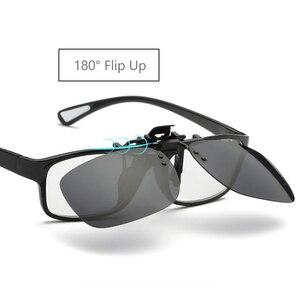 Image 2 - מקוטב קליפ על להעיף את משקפי שמש גברים נשים גוונים קליפ על עבור קוצר ראייה משקפיים נהיגה דיג משקפי UV400