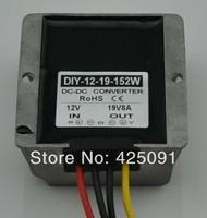 10PCS Converter DC 12V (9V 18V) Step up to 19V 8A 152W DC Module Car Power Adaptor Regulator RoSH CE