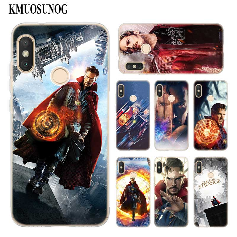 Fitted Cases Doctor Strange Tempered Glass Phone Cover For Xiaomi Mi A2 Case A1 8 Lite 9 F1 Redmi 6a 4x Note 5 Pro 6 7 Backshell Fashion Dr