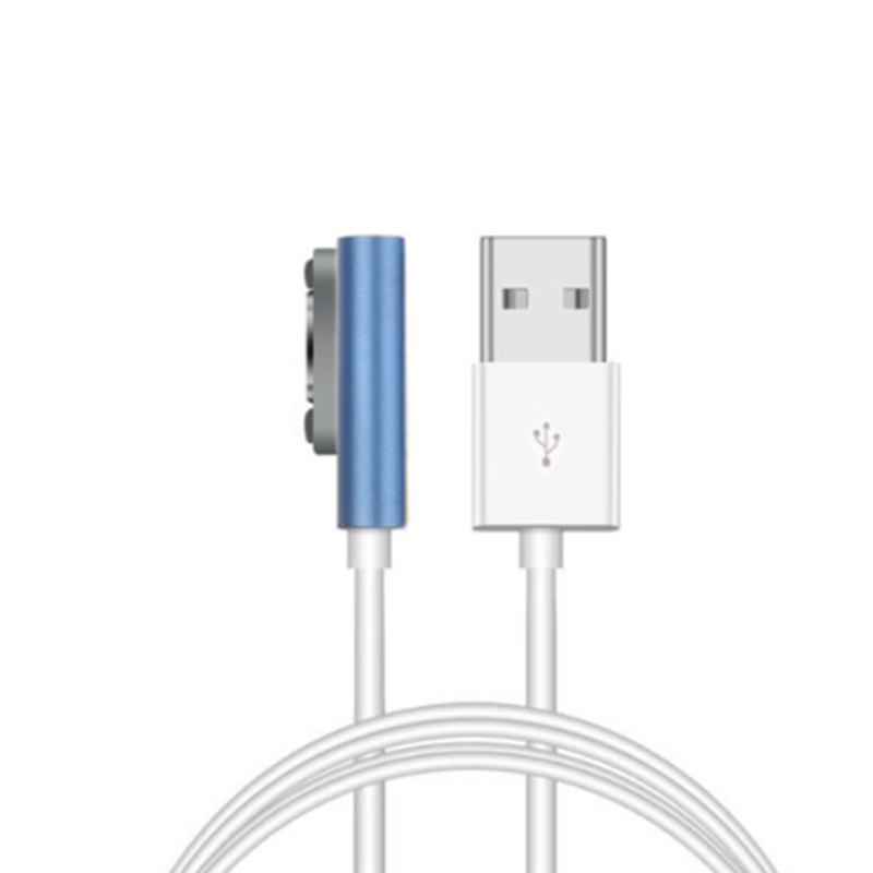Phone charger usb micro quick charging adapter 1m Magnetic Charging Cable W/LED For Sony Xperia Z3 L55t Z2 Z1 Compact New