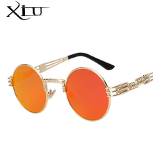 Steampunk Sunglasses Round Shades UV400