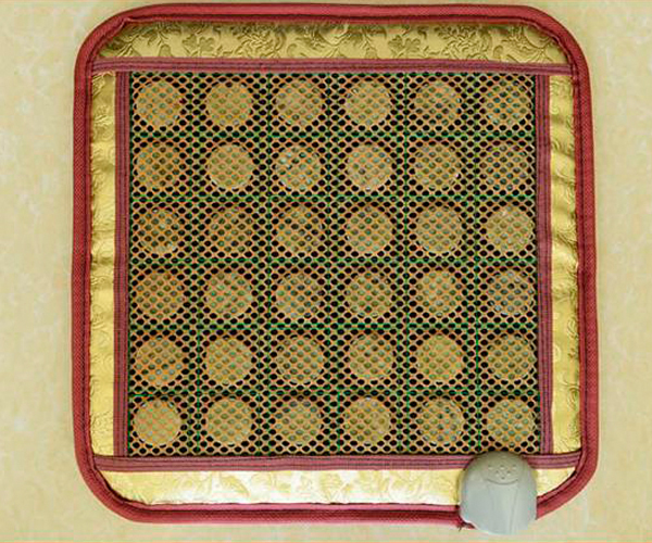 2016 Best Selling Tourmaline Energy Seat Cushion/The Ochre Jade Chair Pad 45cm*45cm/ the Health Far-Infrared Pad Free Shipping the silver chair