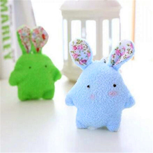 цены 2017 NEW Cute Baby Soft Plush Toys Plush Rabbit Shape Toy  Mate Stuffed & Plush Animals for girls' & boys'&kids' Gifts