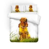 3D print Bedding set dog Havana, American Cocker Spaniel, Golden Retriever friends' gift Duvet cover set Home Textiles.
